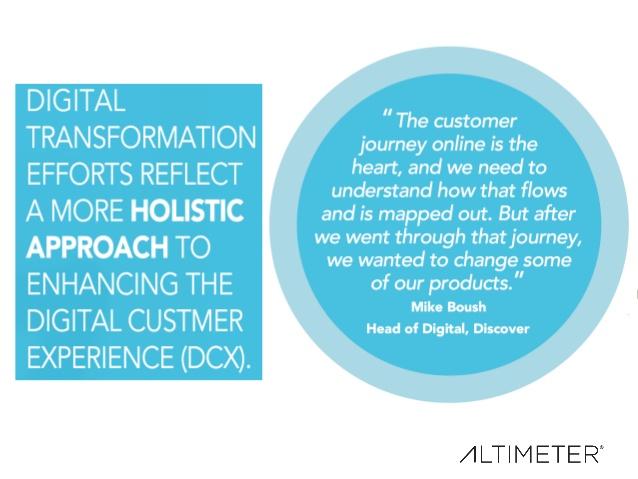 Digital Customer Experience - Altimeter Group