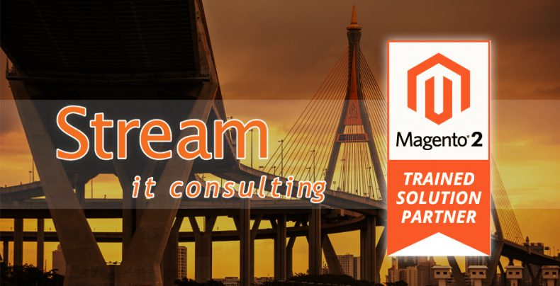 Stream it passed the magento 2 training solution partner