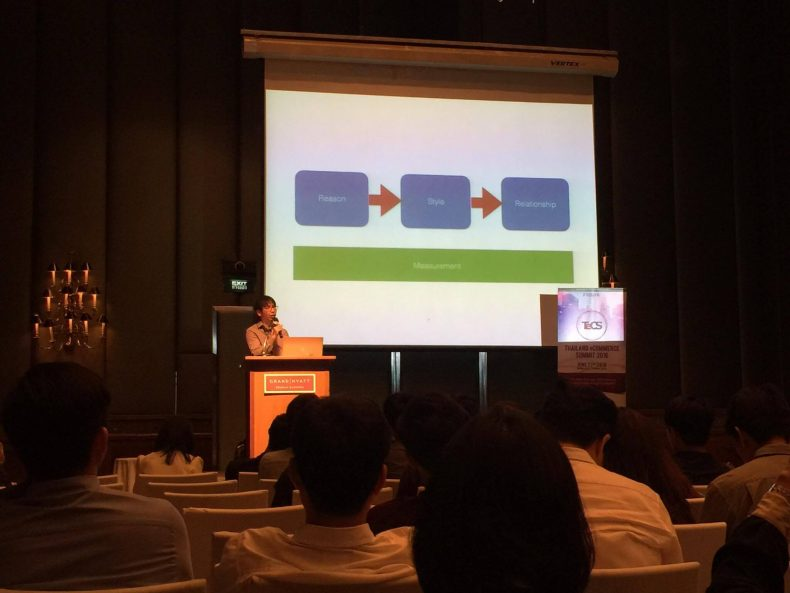 "ห้อง workshop การบรรยายหัวข้อ ""How to engage your customers with facebook and line"" โดย 425 degree.com"